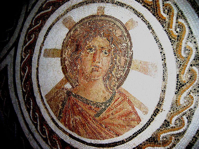 Apollo-Sol Invictus. Mosaico, II sec. d.C.