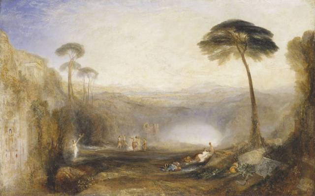 J. M. William Turner, The Golden Bough. Olio su tela, 1834. Cincinnati, Tate Collection, Museum of Art.