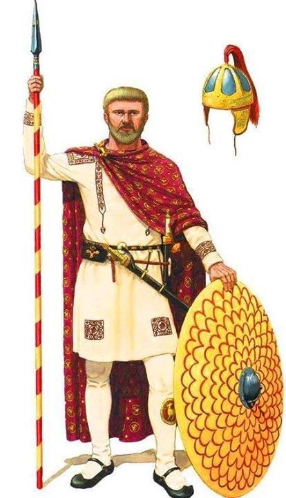 Flavio Stilicone, illustrazione di Andreas Gagelmann.