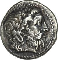 Seleuco I Nicatore. Tetradramma, Seleucia 296-281 a.C. ca., Ar. 17, 30 gr. D – Testa laureata di Zeus verso destra.