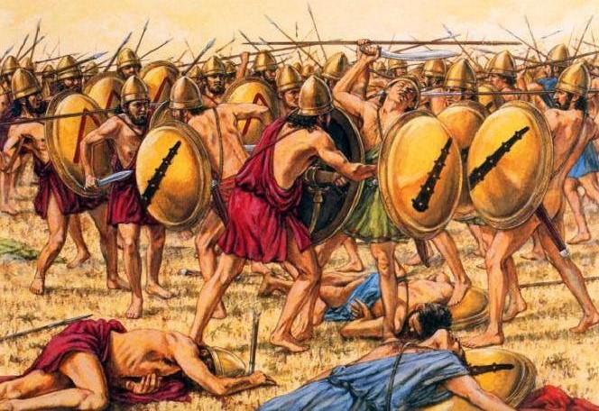 Adam Hook, Battaglia di Coronea, 394 a.C.