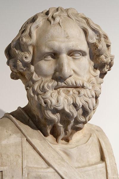 Archidamo III di Sparta. Busto, marmo bianco. Museo Archeologico Nazionale di Napoli