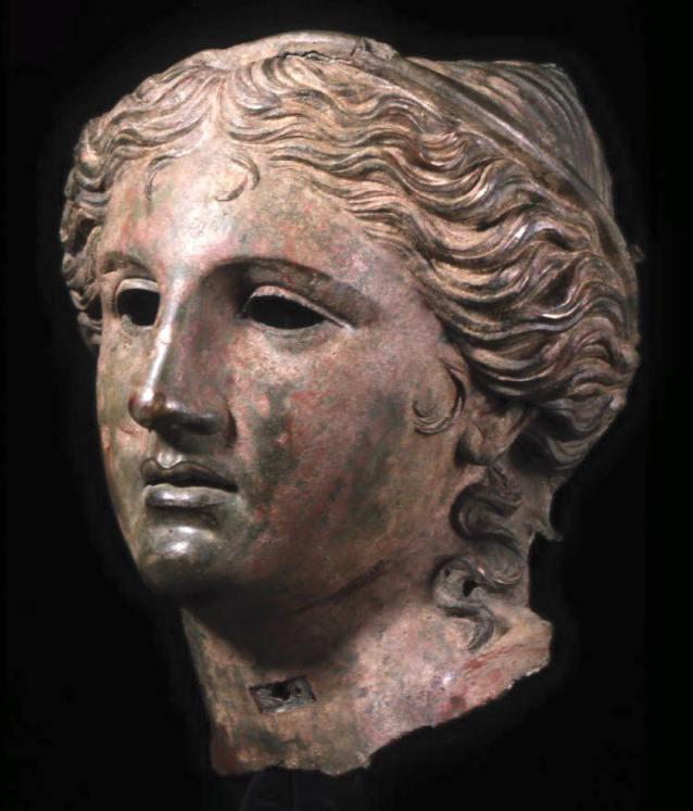 Anahit. Testa, bronzo, IV sec. a.C. ca., da Erez (Armenia)