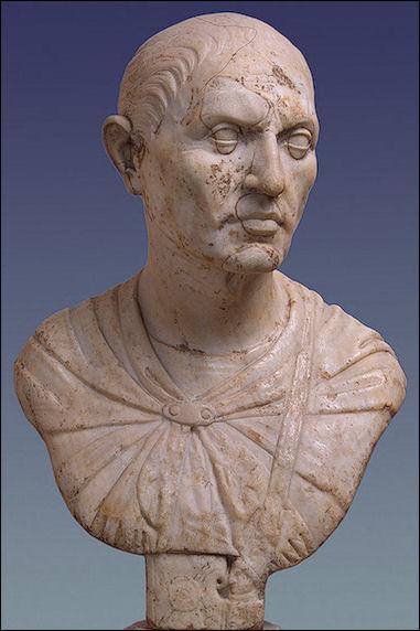 L. Licinio Lucullo. Busto, marmo, I sec. a.C. S. Pietroburgo, Hermitage Museum