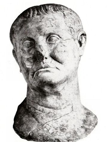 L. Licinio Lucullo. Testa, marmo, seconda metà del I sec. a.C. dal tempio di Serapide, Sinope (Turchia)
