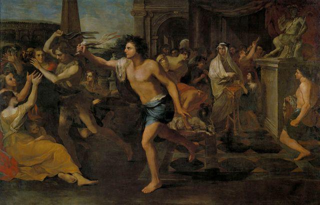 Andrea Camassei, Festa dei Lupercali. Olio su tela, 1635. Museo del Prado