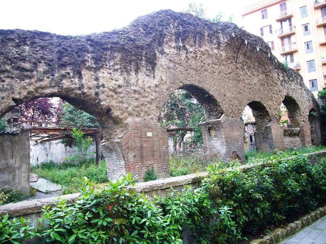 porticus aemilia, testaccio (roma).