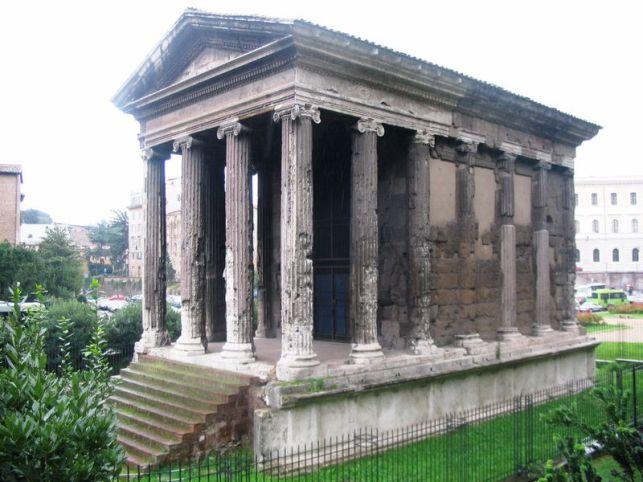 tempio di portuno, foro boario, roma.
