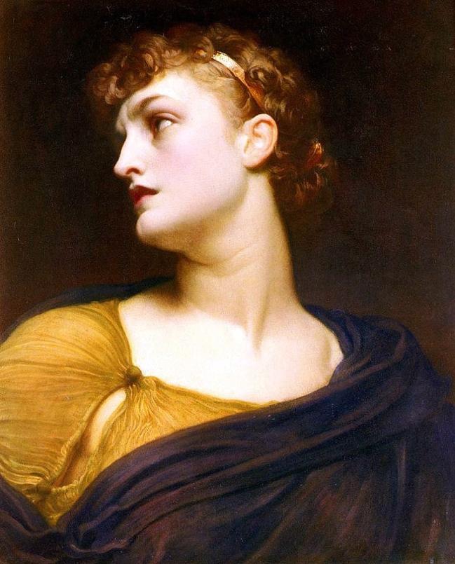 Frederic Leighton, Antigone. Olio su tela, 1882..jpg