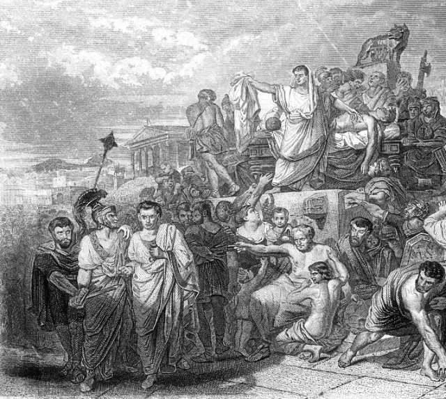 Antony's Oration over Caesar's Body