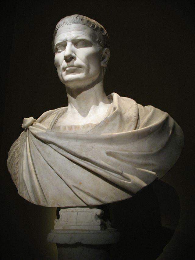 C. Giulio Cesare. Busto, marmo. Kunsthistorisches Museum Wien
