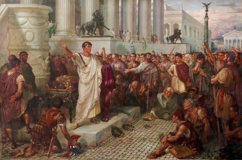 William Holmes Sullivan, Julius Caesar, Act III, scene 2, the Antony's Speech