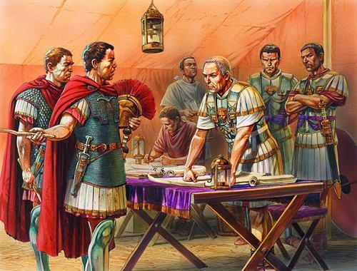 Peter Dennis, Cesare e l'alto comando