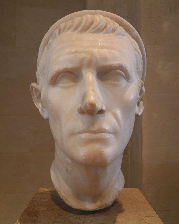 Antioco III. Testa, marmo, fine I sec. a.C. - inizi I sec. d.C. ca. Paris, Musée du Louvre.