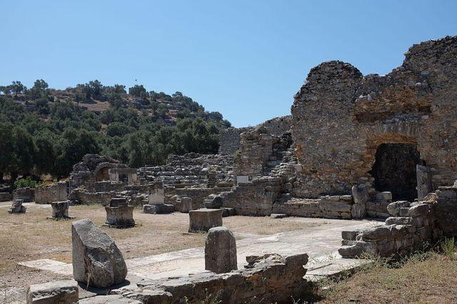 iasos (caria, turchia). agorà