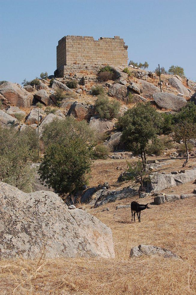 Tempio di Atena, Eraclea al Latmo (Caria).