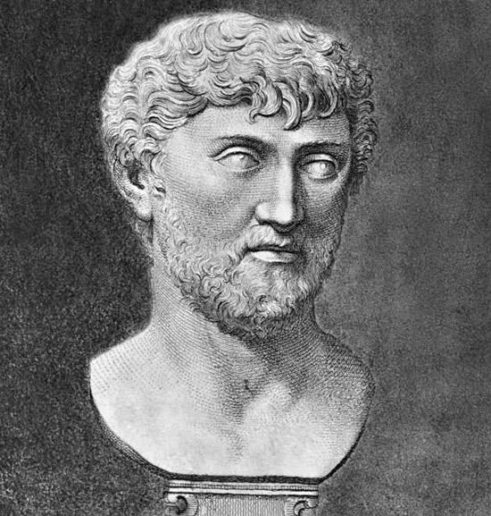 Busto di Lucrezio